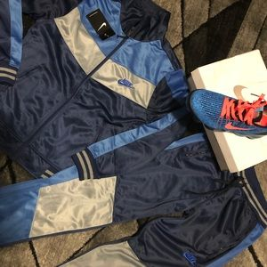 Nike Track Suit and Vapor Max